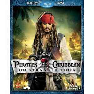 PIRATES OF THE CARIBBEAN:ON STRANGER BY DEPP,JOHNNY (Blu-Ray)